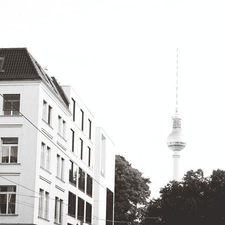 Berlin Fernsehturm Tvtower Capa Filter