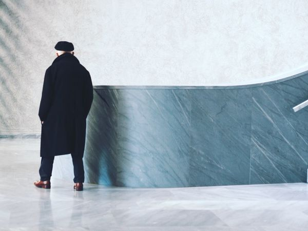 Architecture Architecture Details The Architect - 2016 EyeEm Awards Museum Of Modern Art Detail Indoors  People People Photography Building Elegance Everywhere Minimalism Envision The Future Old Man and New Building  Color Palette People And Places TakeoverContrast