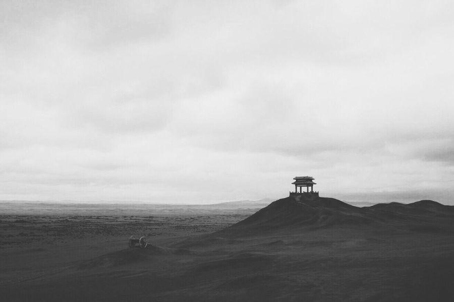 Vscocam 敦煌 Blackandwhite Landscape