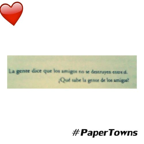 Papertowns Bestbookever Love ♥