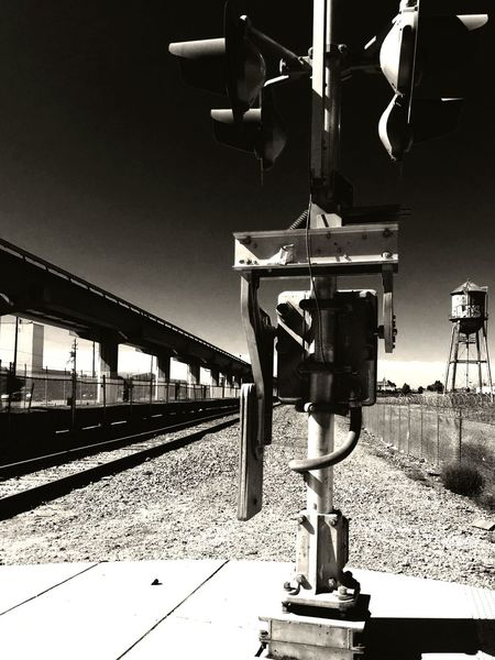 Railroad Track Oakland Blackandwhite Trainporn
