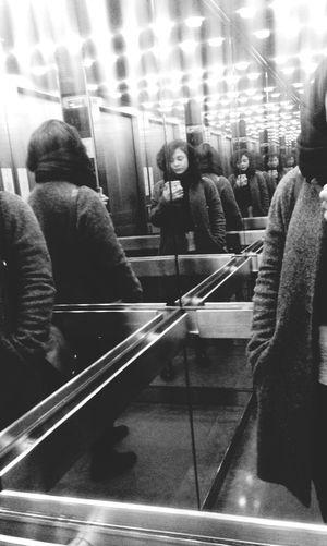 Redondance Redundancy Self-control Blackandwhite Shadows & Lights