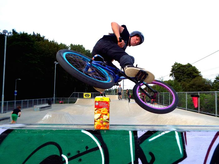Adam Ellis going Mental on his Bmx  Skateboard Park Sports Ramp Stunt Bmx Cycling Skill  Bicycle Sport Extreme Sports Full Length Outdoors Teenager Product Placement Sommergefühle Your Ticket To Europe