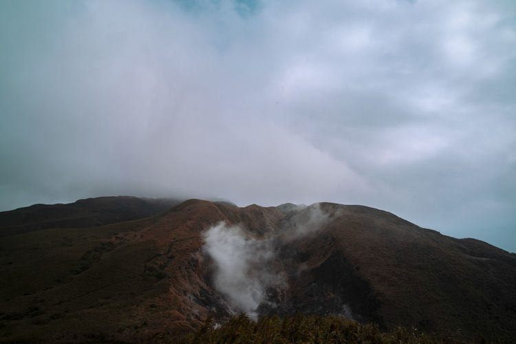 Breathing volcano