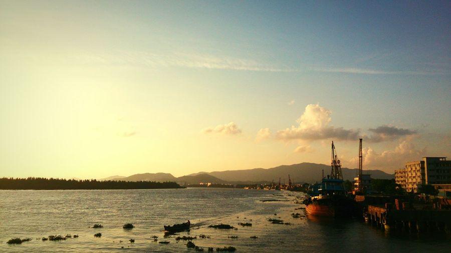 Twilight Sea And Sky First Eyeem Photo