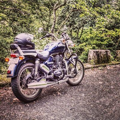 Saturday Routine Ride Royalenfield Thunderbird 350  Ls2 Bikersofinstagram
