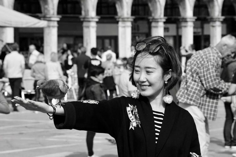 Venezia in bianco e nero. Asiatic Tourists Historical Sites City Of Art Venice, Italy Black And White City Arts Culture And Entertainment Architecture
