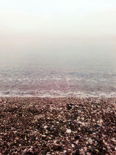 Sea On The Beach Foggy Day Antalya Turkey Konyaaltisahilleri First Eyeem Photo