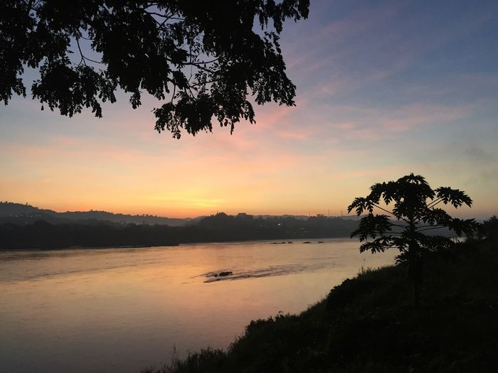 Fresh air in morning time Miles Away Sky Morning Sunrise Nature Water River Scenics Outdoors Tranquil Scene Beauty In Nature Shades Of Nature Shades Of Sky