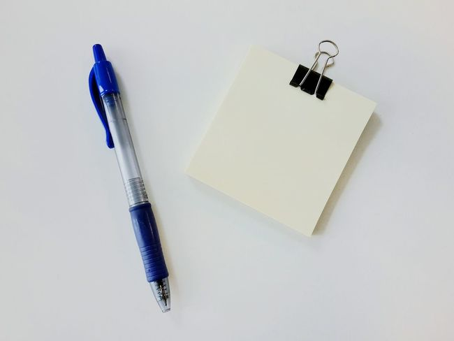Stationary Pen Noted Clip Whitebackground Product Photography Samsungphotography