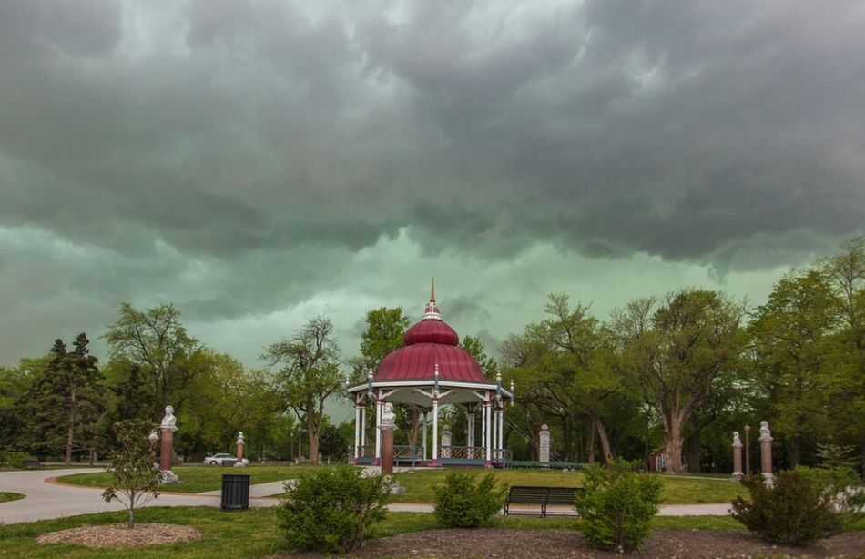 Storm Front Bandstand Daddynewt Sky Dramatic Sky