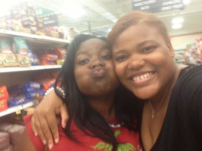 silly me && my big sis