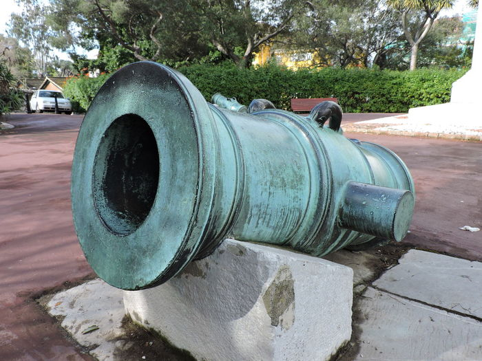 Close-Up Of Cannon