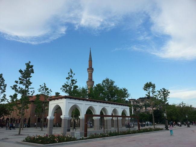 Bir kenardan bi köşeden Hacı Bayram Veli Cami First Eyeem Photo