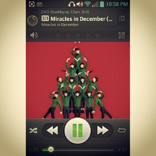 Pampatulog. ;) Zzz.. Miraclesindecember EXO Goodnight
