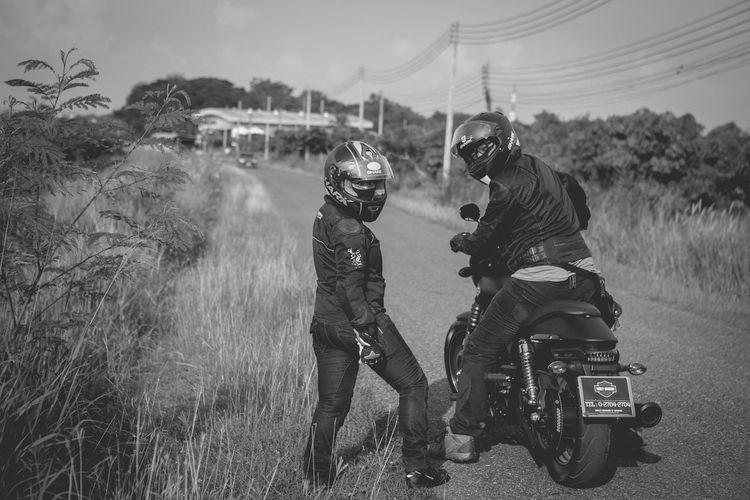 couple biker