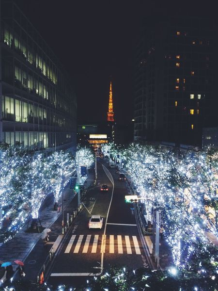 Christmas arrived in Tokyo Tower Festive Season