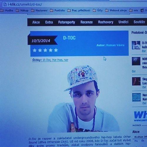 Sleduj promo video a nebo koukni na mě na i-klik.cz v databázi umělců! http://bit.ly/YouTubePromo IklikCZ Youtube Bitly Dtoc rap