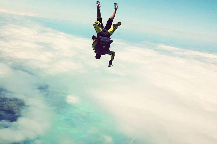 Saut Parachute Skydive Magic Moments
