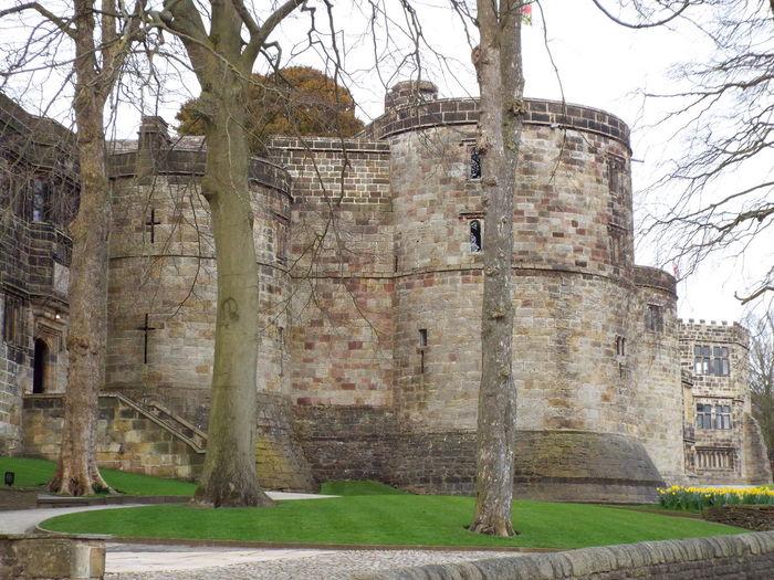Medieval Castle Medieval Castle Skipton Castle Main Entrance Entrance Castle Entrance Castle Window Castle Windows Trees
