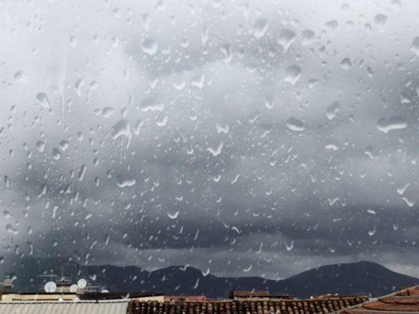 Rainy Days Rainy Day Rainy Afternoon. Rain Mountain View View From The Window...