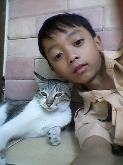 Selfie ✌ with my cat