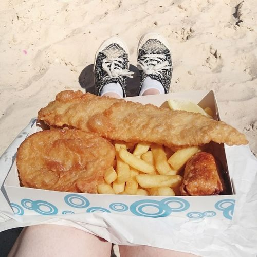 Street Food Worldwide Fish & chips with dimmies Australian Life Food Melbourne