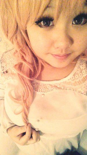 Dani Filter Pink Hair Pink Eyes <33.