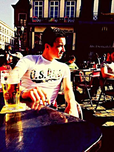 Jupiler les hommes savent pourquoi ! 🍺🍻 Terrasse Mons Sun Bière