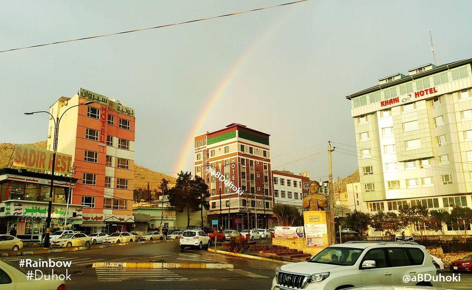 Rainbow Duhok Kurdistan Photo By  ABDuhoki After The Rain Afternoon Sky Skyduhok Peshmerga Bestshot