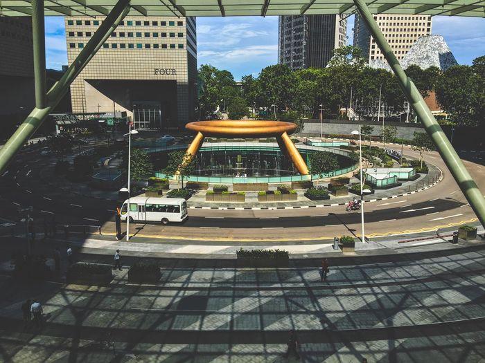 The Architect - 2016 EyeEm Awards Fountain Road Roundabout Singapore Suntec City