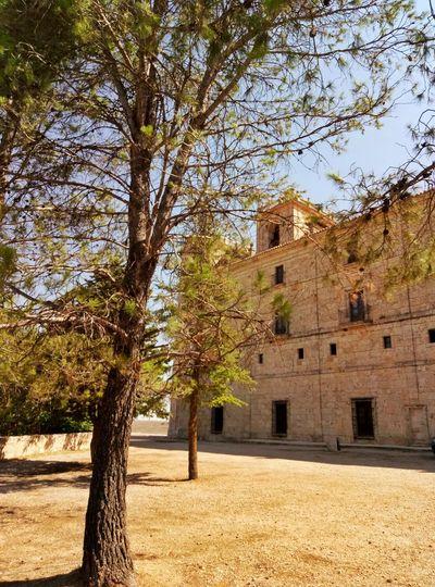 Architecture No People Beauty In Nature Nature monasterio castilla la mancha españa spain Building Exterior