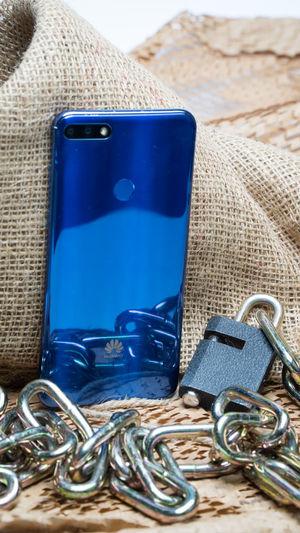 Blue Huawei