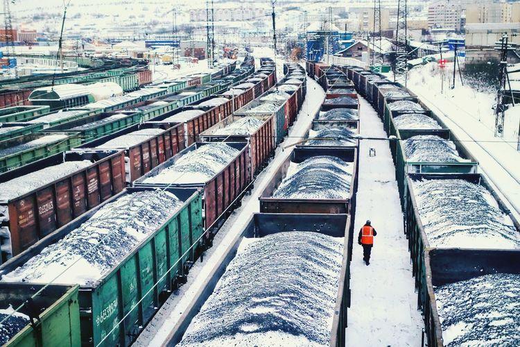 EyeEmRussianTeam Murmansk Railway Vanishing Point