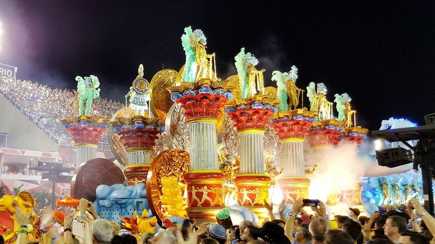 Colours Of Carnival Sambodromo Samba Carnival Rio De Janeiro