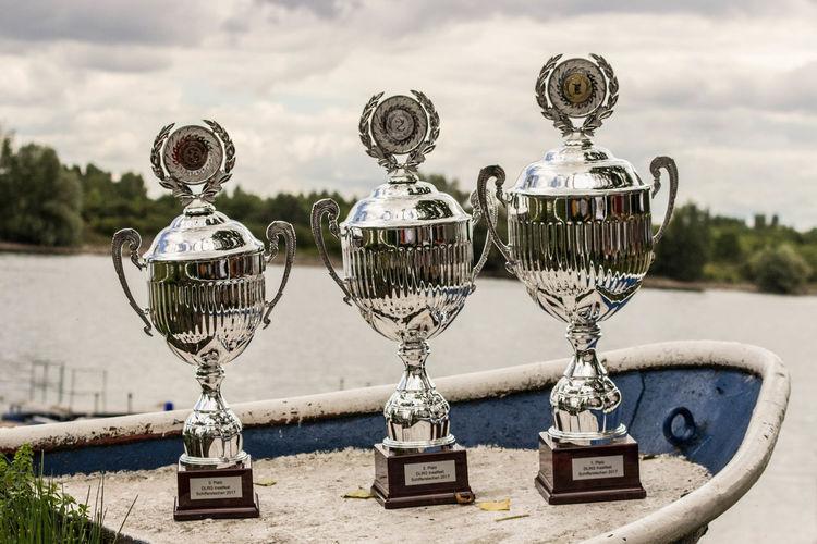 Brauchtum DLRG DLRG Nackenheim Fischerstechen Kisselwörth Rhein Rheinland-Pfalz  Trophy Wettkampf Day Lifeguard  Nass Outdoors Pokal Sport Sports Turnament Turnier Wasser
