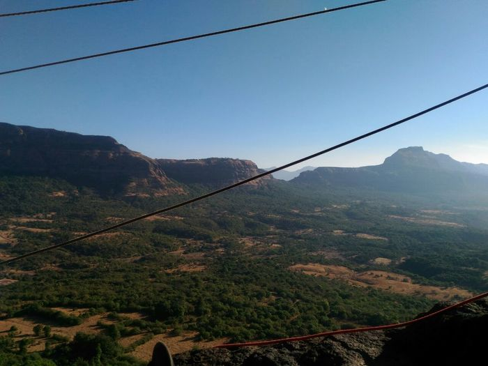 Noeditsnofilter Mountain Hikingadventures Rockclimb On The Top Morning Sun Nature Sky Ropes Paracord Mountain View Mountain Range Mountains And Valleys Goals Being Reached @ Tailbaila Rock Climb Shayadri Indian Mountains Trekking Long Goodbye EyeEmNewHere
