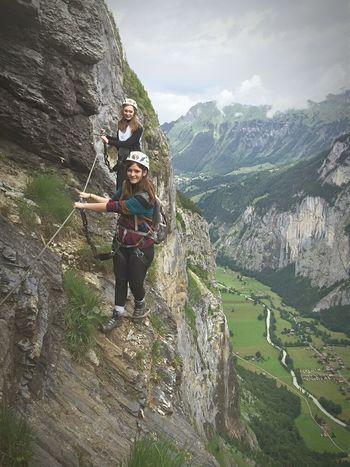Via Feratta Outdoors Mountain Climbing Mountains Via Ferrata That's Me Hanging Out Exploring Enjoying Life Switzerland Adventures Go Higher