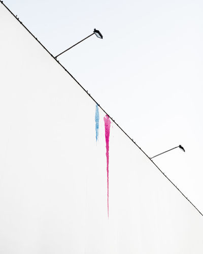 Colors Minimalist Architecture Pink Urban Lifestyle Urban Exploration Urban Geometry Blue Clear Sky Color Colorsplash Diagonal Lines Grafitti Wall Hanging Low Angle View Minimalism Minimalobsession Outdoors Simple Beauty Simplicity Streetart Streetart/graffiti Streetartphotography Streetphotography White White Color The Creative - 2018 EyeEm Awards The Street Photographer - 2018 EyeEm Awards The Architect - 2018 EyeEm Awards A New Perspective On Life