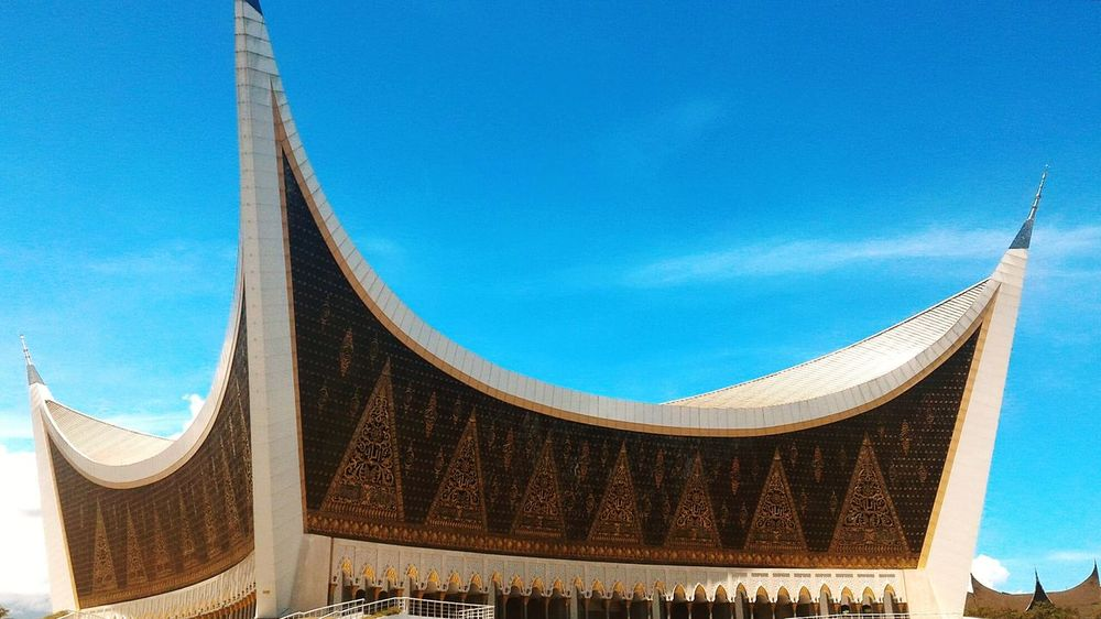 Landscape No People Outdoors Built Structure Mosque Architecture INDONESIA Religion