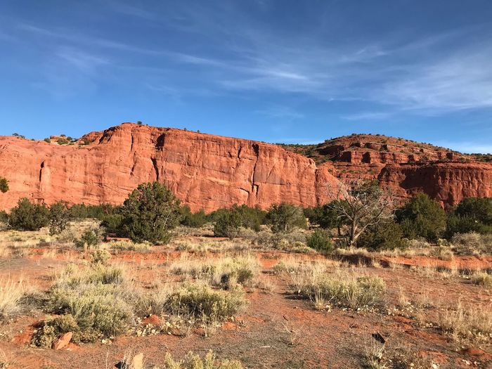 Rock Formation Rock - Object Nature Geology Landscape Beauty In Nature Physical Geography Outdoors Day Tranquil Scene Sky Scenics Travel Destinations Tranquility Travel Arid Climate No People Tree 🇺🇸