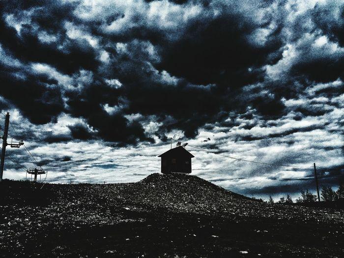 Sky Cloud - Sky Outdoors Nature Spirituality Built Structure