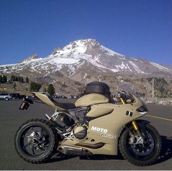 Last trip with my motorbike