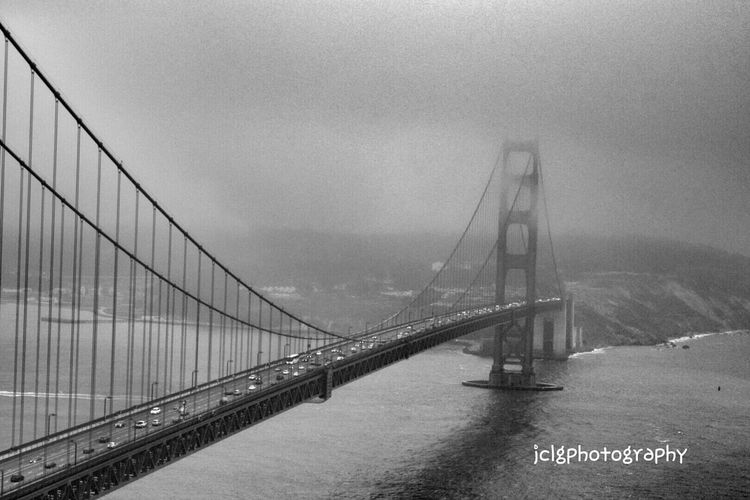 Enjoying Life Taking Photos Relaxing Hello World EyeEm Best Shots - Black + White Eyem Best Shots Clouds And Sky Taking Photos Check This Out Golden Gate Bridge