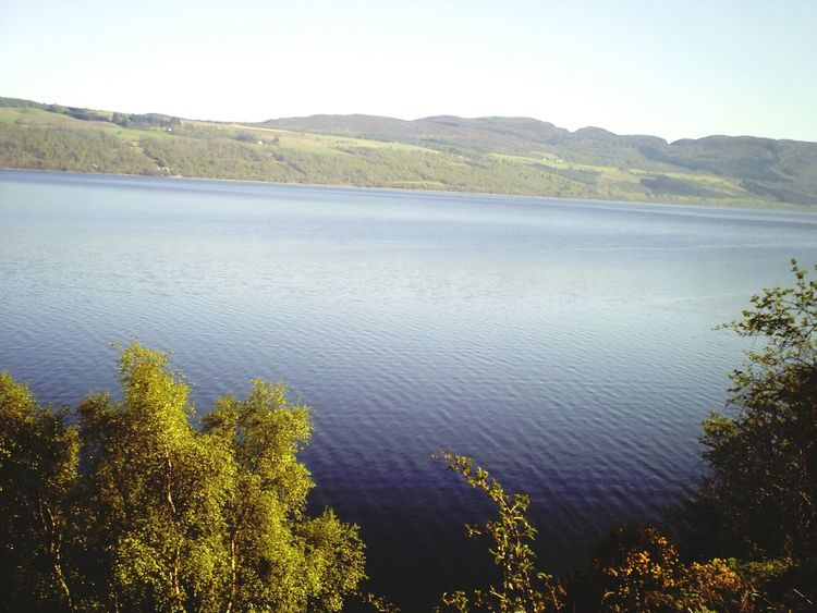In search of the Loch Ness Monster. Scotland Great Britain Lake Nature