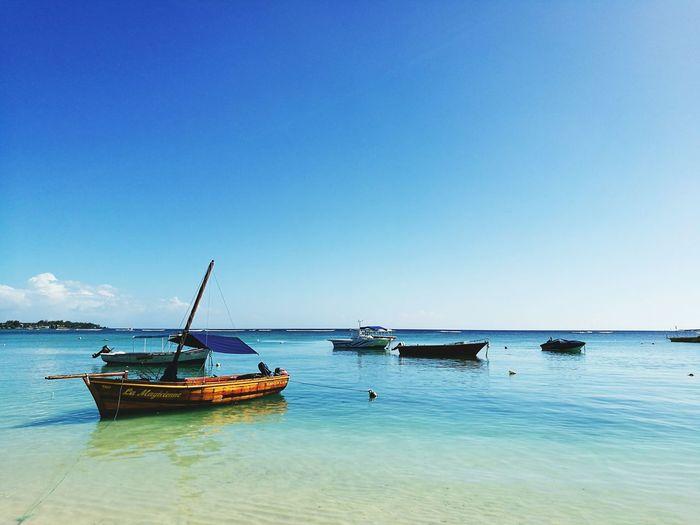 Paradise Beach From Mauritius Trou Aux Biches beach