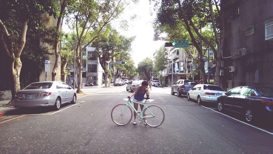 have a gooood day :-) Fixed Bike Fixie/fixed Gear Fixie Enjoying Life
