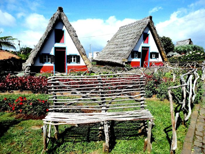 Santana Village, Madeira Island, Portugal :) Huts Hut No People Outdoors Sky Architecture Built Structure Portugal Is Beautiful Islands Island Portugal_lovers Portugal Madeira Vacation Madeira Islands Madeira Islands, Portugal Madeira,funchal Madeira Island Madeira Santana :) Santanamadeira Santana Miles Away