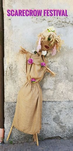 Scarecrow Festival EyeEm Selects Festival Clothes Dressed Up Scarecrow Scarecrows Scarecrow Festival Scarecrow...👒🌾 Scarecrow_contest Female Likeness EyeEm Best Shots Eye4photography  EyeEm Gallery EyeEmBestPics EyeEm Close-up ArtWork Cloth Art And Craft Art Craft