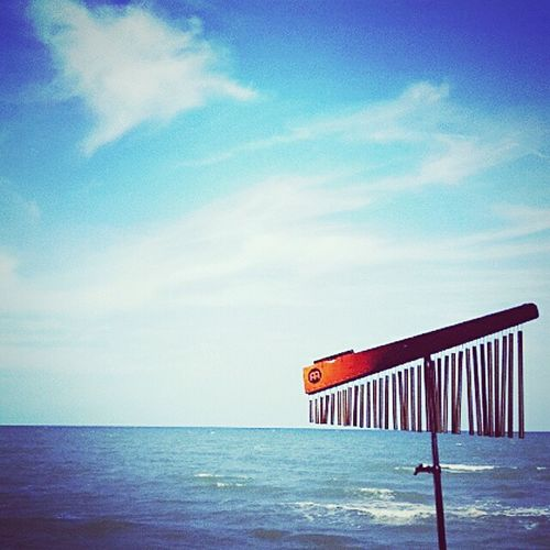 Summertime Sea And Sky Sea View All Blue Bueatiful Day EyeEm Nature Lover Love Cha-Am Cha-Am Beach Thailand